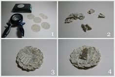 Bursts of Creativity: Easy Paper Flower Tutorial