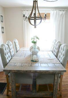 Adorable 60 Farmhouse Style Dining Room Decor Ideas https://idecorgram.com/3444-60-farmhouse-style-dining-room-decor-ideas