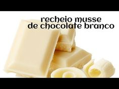 Frosting, Cheese, Fruit, Chocolates, Youtube, White Chocolate Ganache, Chocolate Filling, Delicious Desserts, Yummy Recipes