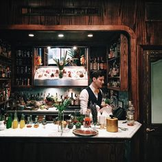cocktail bar: ZZ's Clam Bar, a tiny, ten-person bar in Greenwich Village.