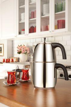 Hisar - Tealove Tea Set / Designed by Can Yalman - 2012 Good Design Award