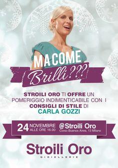 Carlo Gozzi @ Stroili Oro Milan - 24th November 2012