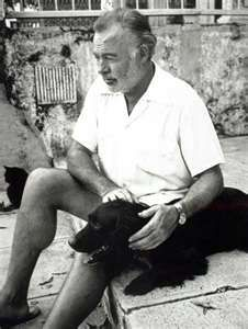 ERNEST HEMINGWAY... my ultimate celebrity crush.