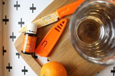 Drinking water infused with orange oil can make it taste so delicious you want to drink water all day.