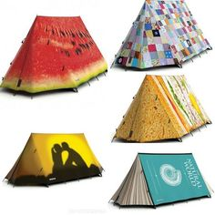 A tent, even though you won't be sleeping much.