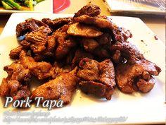 Pork Tapa http://www.panlasangpinoymeatrecipes.com/pork-tapa.htm #PorkTapa