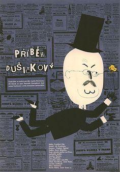 The story of All Saint´s Day (1965) - Czech One Sheet (Jaroslav Fiser)