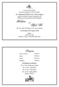 indian wedding invitations wordings reception invitation wordings muslim wedding punjabi. Black Bedroom Furniture Sets. Home Design Ideas