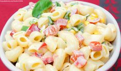 Good Ole Macaroni Salad - by Chef Lucy Greer, Greer's Markets Salad Recipes Video, Pasta Salad Recipes, How To Make Macaroni, Macaroni Pasta, Good Ole, Healthy Living Tips, Soup And Salad, Food Videos, Meal Planning