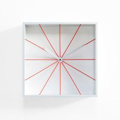 Prospettivo Wall Clock White, $219, now featured on Fab.