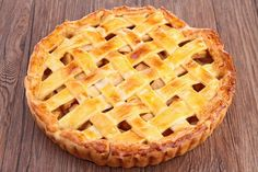 Apple and pear pie.