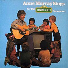 Anne Murray Sings for the Sesame Street Generation album (1979) [Muppet Wiki]