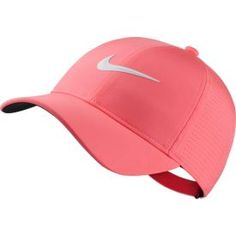 Check out our Sunset Pulse Nike Ladies AeroBill Golf Cap! Find the best sports gear and accessories at Click through to own this nike cap! Gifts For Golfers, Golf Gifts, Nike Gear, Cute Nikes, Golf Accessories, Golf Fashion, Golf Outfit, Ladies Golf, Golf Clubs