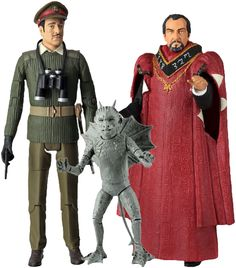 """Doctor Who - The Daemons 5"""" Action Figures (Set of 3)"""