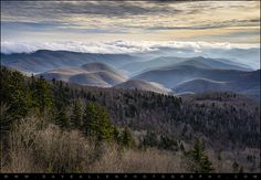 Blue Ridge Parkway NC Scenic Landscape - Serenity by Dave Allen Photography, via Flickr