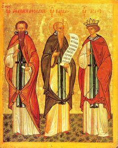 Athanasius vom Athos, Barlaam, Königssohn Josaphat