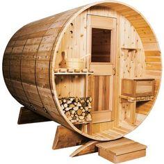 Sportsman Edition Deluxe Barrel Sauna from Cabelas - $9999.99