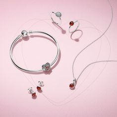 Express your passionate side with January's bold and brilliant birthstone designs: stud earrings, rings, charms and necklace pendants. Hand-finished to perfection, their fiery red colour makes a gorgeous pairing with the cool hues of sterling silver. #DOCelebrate #DOPANDORA @spathjewelers