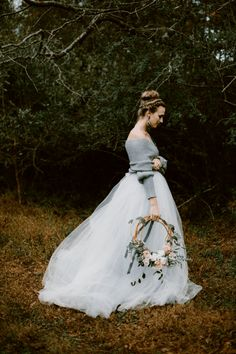 2017 Wedding Trends, Wedding Dress Trends, Wedding Gowns, Tulle Wedding, Floral Wedding, Botanical Wedding, Wedding Shoot, Wedding Ceremony, Wedding Ideas