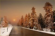 On the road by creastefano. Please Like http://fb.me/go4photos and Follow @go4fotos Thank You. :-)