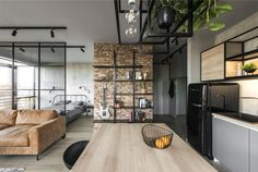 Me2architects Turned Apartment into Exclusive Home for a Young Man - InteriorZine