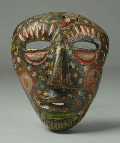 19th Century Afro-Peruvian Dance Mask