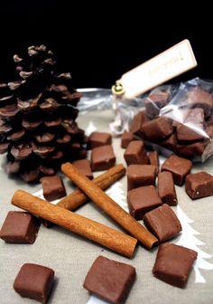 Frendhouse: Czekoladowe cukierki miętowe