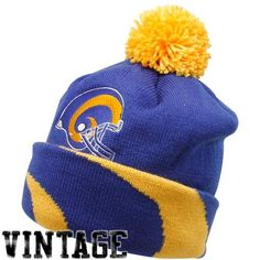 0addcef24 NFL Mitchell  amp  Ness St. Louis Rams Royal Blue-Gold Throwback Jersey  Striped