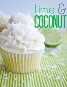 Serene's Lime Coconut Cupcakes