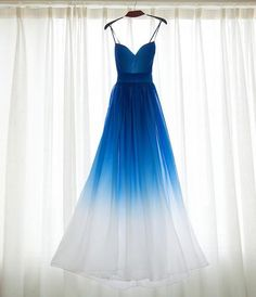 Bridesmaid Dresses Prom Dresses Blue, A-Line Prom Dresses, Sleeveless Bridesmaid Dress, Ombre Prom Dresses, Beautiful Prom Dresses Ombre Bridesmaid Dresses, Straps Prom Dresses, A Line Prom Dresses, Cheap Prom Dresses, Evening Dresses, Dress Prom, Prom Gowns, Party Dress, Gowns 2017