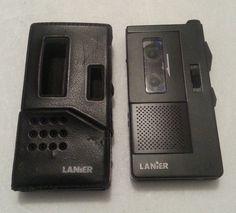 LANIER P-155 Handheld Microcassette Voice Recorder