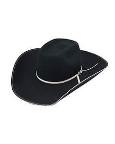 a9d18ef4d84 Resistol 4X Snake Eyes Black Brick Felt Cowboy Hat