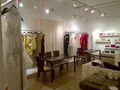 Marchesa showroom - Milan, NY, LA? - glam!