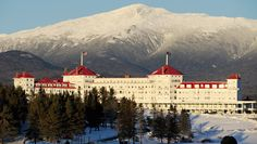 Enjoy two nights at the magnificent Omni Mount Washington Resort!