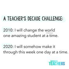 #2020DecadeChallenge Biology Humor, Chemistry Jokes, Grammar Humor, Science Jokes, Teaching Humor, Teaching Quotes, Teaching Reading, Humor Videos, Music Education Quotes