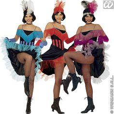 Disfraz de Can-Can #disfraces #carnaval