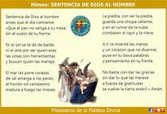 MISIONEROS DE LA PALABRA DIVINA: HIMNO LAUDES - SENTENCIA DE DIOS AL HOMBRE