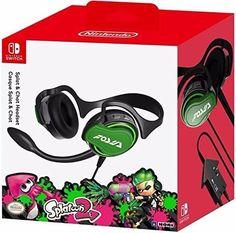 Nintendo Switch Splatoon 2 Splat & Chat Headset HORI #Nintendo