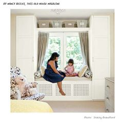 Fenêtre Encastrée Avec Des Meubles Ikea