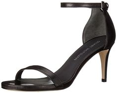 Stuart Weitzman Womens Nunaked Heeled Sandal Black 8 M US >>> This is an Amazon Affiliate link. Click on the image for additional details.