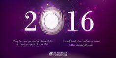 Wishing you the very best of the New Year from Al Huzaifa Furniture! #alhuzaifa #happynewyear #2016 #happynewyear2016 #newyearwishes #countdown #newyearindubai #uae #dubai