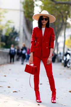 "Street fashion: w ""męskim"" stylu / fot. Imaxtree"