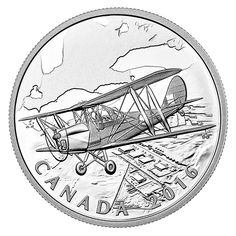 1 oz. Fine Silver Coin – The Canadian Home Front: British Commonwealth Air Training Plan (BCATP) – Mintage: 7,500 (2016)