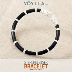 Brace yourself to charm the world with this silver bracelet!  Product Code 	597353 #bracelet #fashion #voylla #alwaysbeautiful