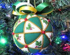 Christmas Ornament Kit Echoes of Japan by OrnamentDesigns on Etsy