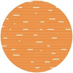 Jay-Cyn Designs for Birch Fabrics, Mod Basics, Organic, Abacus Orange  (maybe napkin fabric?)
