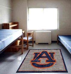 #AuburnTigers #AuburnU Logo Rug