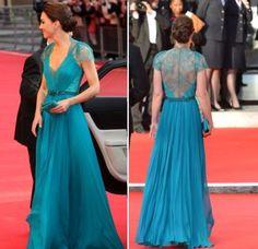 L'élégance en dentelle pour Kate Middleton