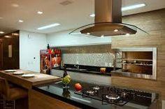 Resultado de imagem para churrasqueiras revestidas de porcelanato Mini Bars, Nova, Conference Room, Kitchen, Table, Furniture, Design, Home Decor, Outdoor Kitchen Design