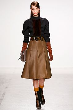 OOOK - John Galliano - Women's Ready-to-Wear 2014 Fall-Winter - LOOK 8 | Lookovore